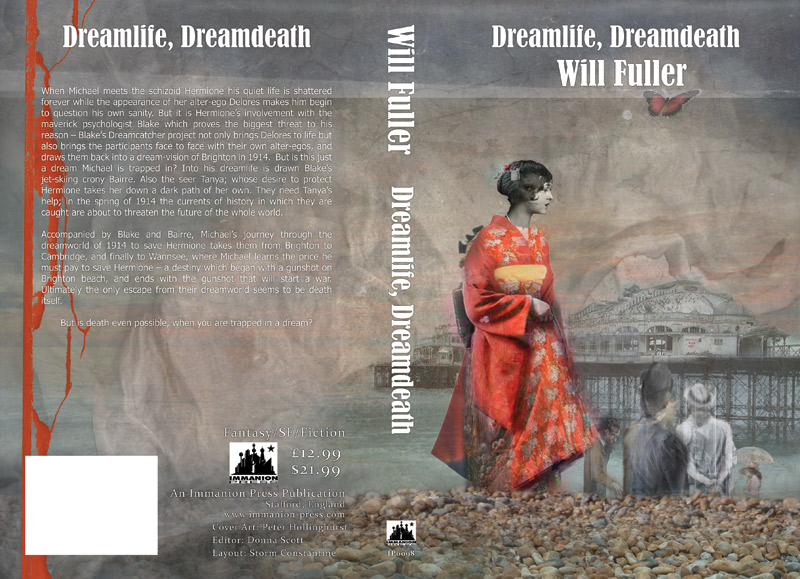 Cover for 'Dreamlife, Dreamdeath' by Will Fuller, Immanion Press